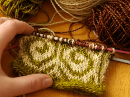 Fiddlehead mitten ready to get ripped