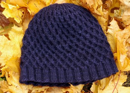 Roxee's knitting fun: Leaf rake pattern