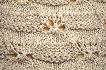 how to end a shell stitch blanket