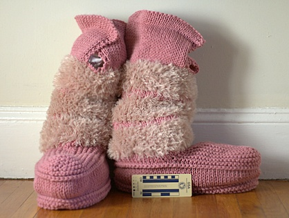Mukluk Slippers Knitting Pattern Mit Hillel