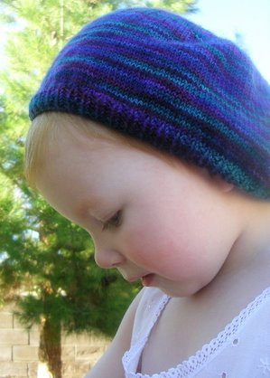 Purl Beret Knitting Pattern : Kathryn Ivy - Archive - Purl Beret Girl