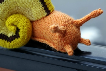 Knitting Pattern For Toy Snail : Kathryn Ivy - Blog - Gastropod Pictures Presents...