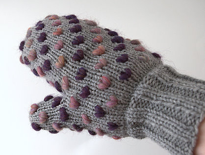 Knitting Pattern For Thrum Mittens : KNIT THRUMMED MITTEN PATTERN 1000 Free Patterns