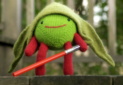 Knit... or knit not. There is no try.