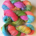 Cascade 220 in a rainbow of colors.