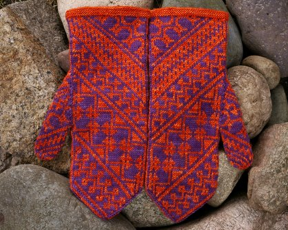 Heart of the Mesa Mittens