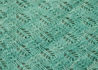 Kathryn Ivy Archive Silky Shetland Triangle